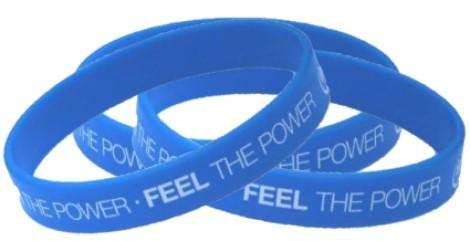 6 Day Express Printed Silicone Wristbands - Child Size - Promotions Only Wristbands