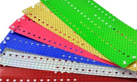 Plastic Shiny Wristbands Plain Stock - Promotions Only Wristbands