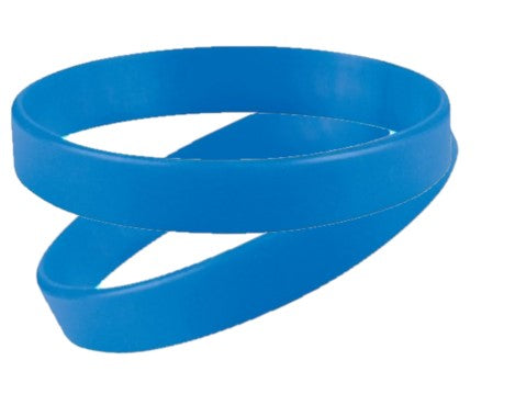 Royal Blue Silicone Wristbands - Child Size - From Stock - Promotions Only Wristbands