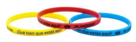 Thin Printed Silicone Wristbands - Promotions Only Wristbands