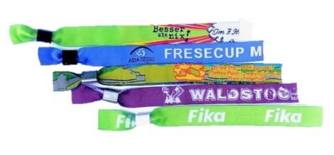 Woven Wristbands - Promotions Only Wristbands