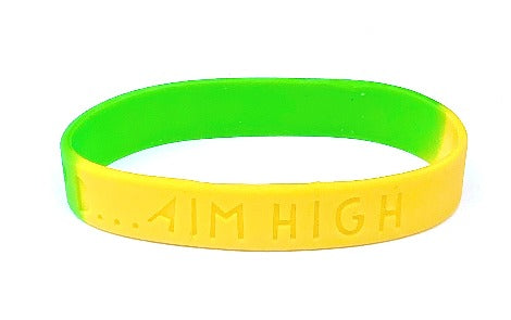 Sectional Debossed or Embossed Silicone Wristbands - Promotions Only Wristbands