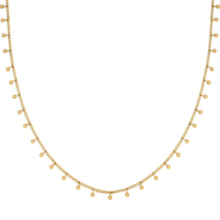 isla ida divine choker necklace gold