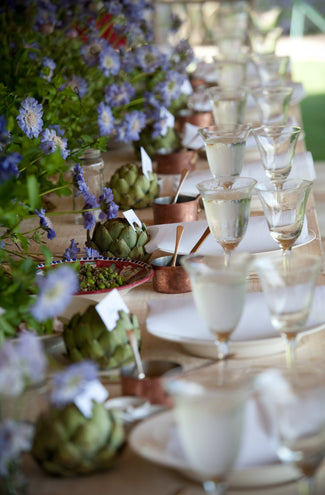 9 tips on how to spice up your summer table by Sophie Lillingston