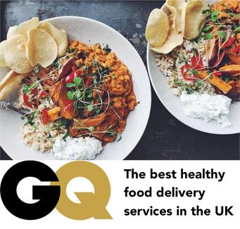 The best healthy food delivery services in the UK