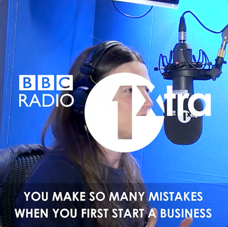Georgia talks to BBC 1Xtra #DIYgeneration