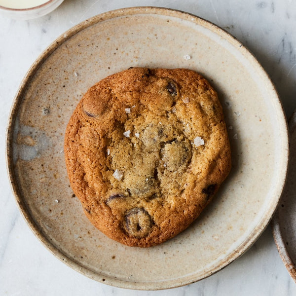 Chocolate Chip & Sea Salt Cookies