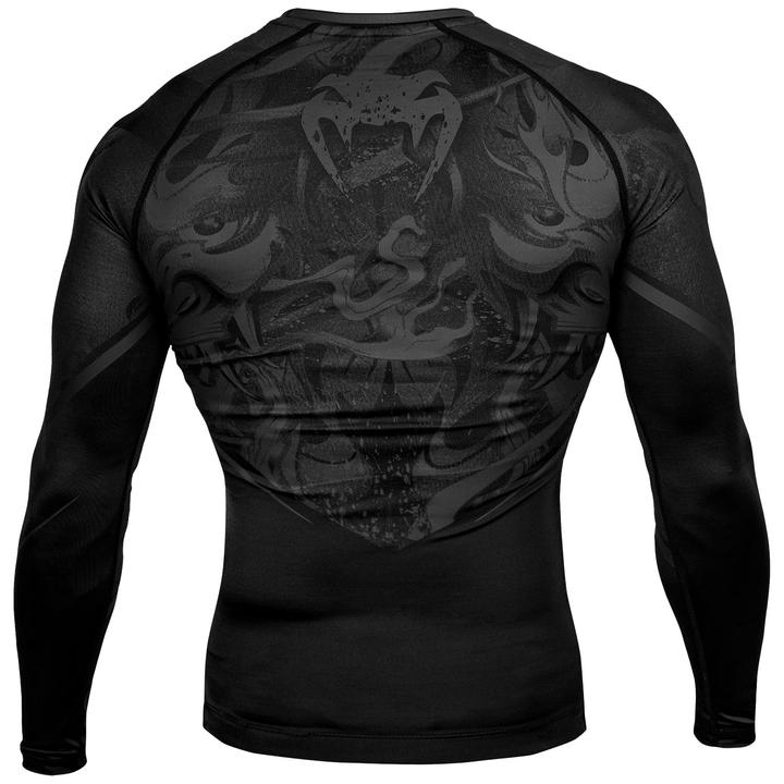 Venum Devils RashGuard Long Sleeves - Black