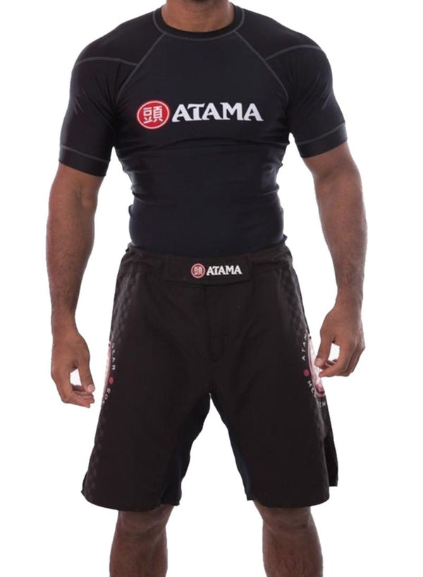 Atama Competition Rash Guards Black