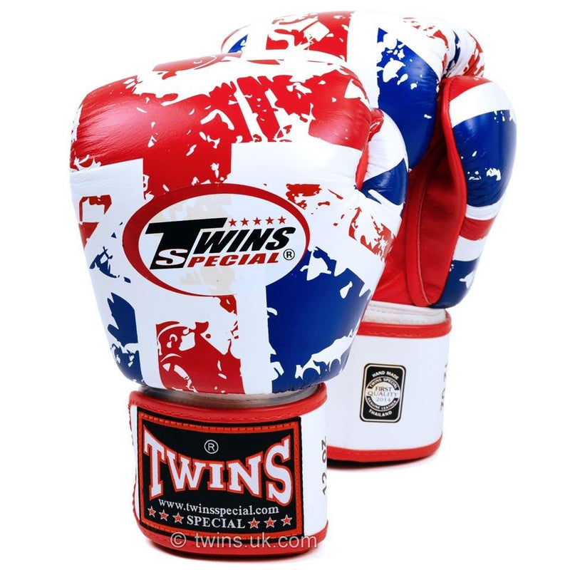 Twins Special FBGV-44UK Fancy Boxing Gloves Flag of United Kingdom