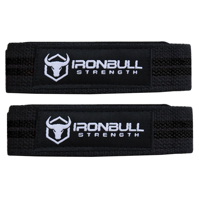 IronBull Strength Lifting Straps Black
