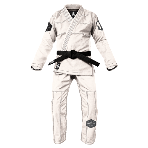 War Tribe Spartan Gi White