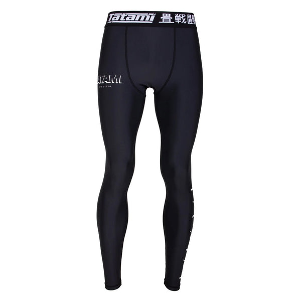 Tatami Fightwear Shadow collection Spats Black