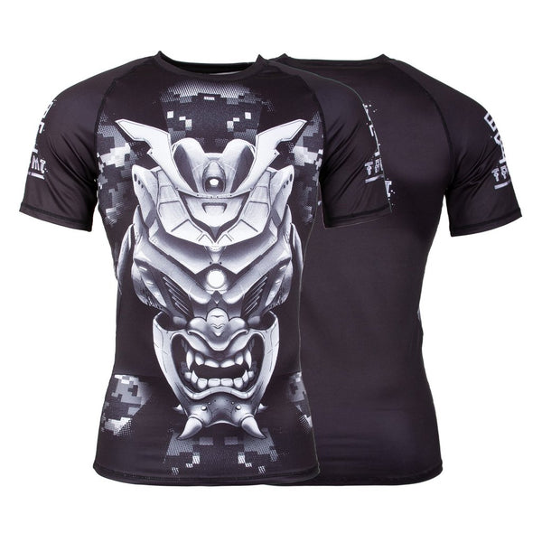 Tatami Fightwear Kabuto Short Sleeve Rash Guard