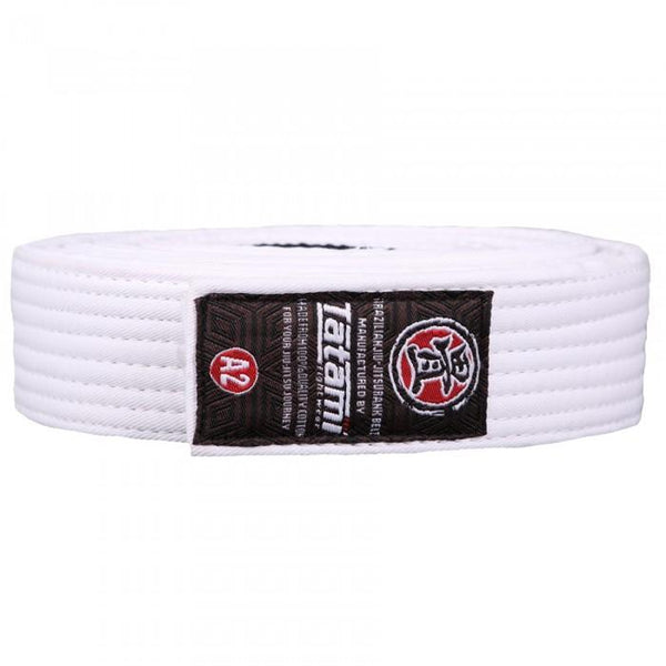 Tatami Fightwear Adult BJJ Rank Belt White