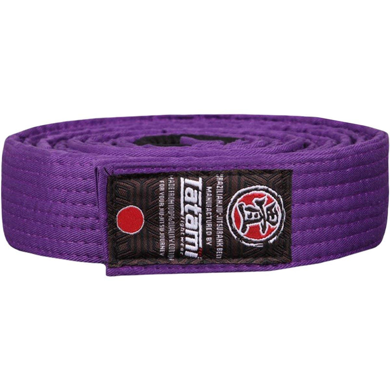 Tatami Fightwear Adult BJJ Rank Belt purple