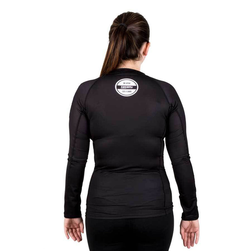 Tatami Fightwear Ladies Classic Long Sleeve Rash Guard Black
