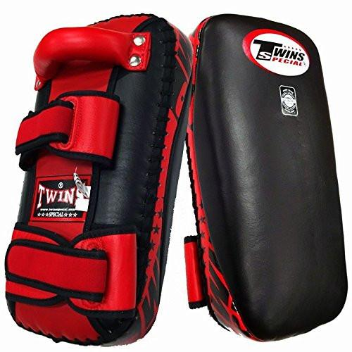 Twins Special KPL-2  Kicking Pad Black-red