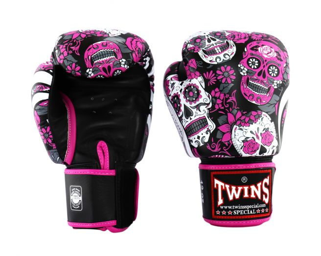 Twins Special FBGV-L3 Fancy Boxing Gloves-pink