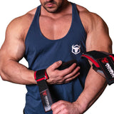 EZ GRIPZ Weight Lifting Straps Fit Long