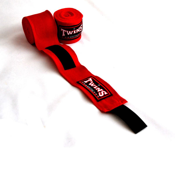 Twins Special CH-5 Twins Hand wraps Red