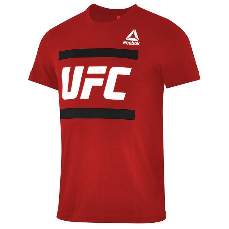 Reebok UFC FG GRAPHIC TEE Red