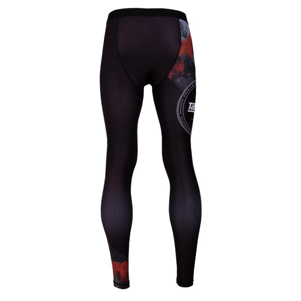 Tatami Fightwear Renegade Red Camo Spats-Red camo