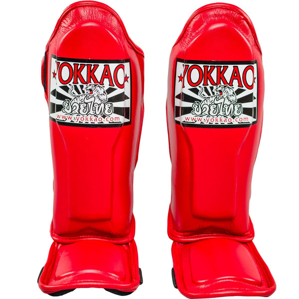 Yokkao SYGPK-V-2 Vertigo Red Kids Shinguards