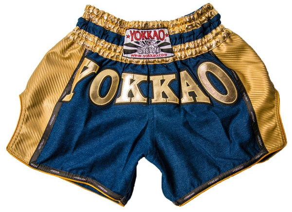 Denim Carbon Shorts Gold Edition
