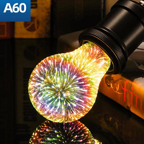 3D Firework Decoration LED Bulb