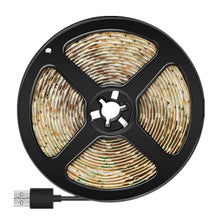 Load image into Gallery viewer, PIR Motion Sensor Detector Flexible Tape 5V USB LED Strip Waterproof Lamp