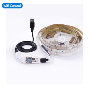 Waterproof Flexible Led Tape Light With Remote 24Key 3Key Wifi Control