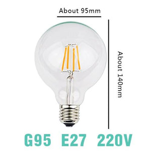 LED Filament Bulb E27 Retro Edison Lamp