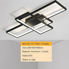 Load image into Gallery viewer, Modern Rectangular LED Ceiling Lights