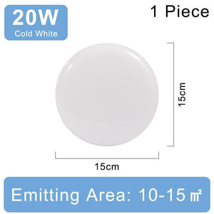 220V Round Panel Ultra Thin Ceiling Lamp