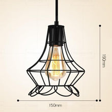 Load image into Gallery viewer, Iron minimalist retro Scandinavian loft pendant lamp