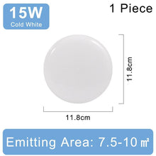Load image into Gallery viewer, 220V Round Panel Ultra Thin Ceiling Lamp
