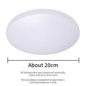 Surface Mount Remote Control Modern LED Ceiling Lighting Fixture