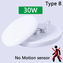 Load image into Gallery viewer, Motion Sensor Surface Mounted LED Ceiling Light Fixtures