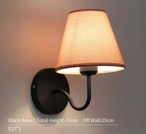 Wall Sconce Bedside White Reading Light