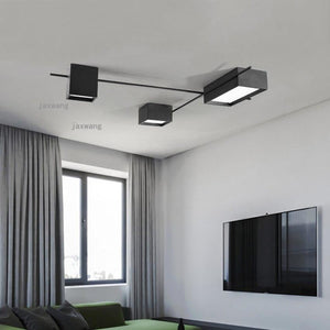 Nordic  Iron Modern LED Creative Ceiling Lighting Fixtures