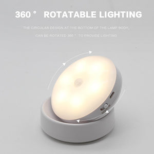USB Rechargeable Security Rotating Wall Lighting