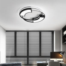 Load image into Gallery viewer, White Black balcony Round LED Ceiling Lamp