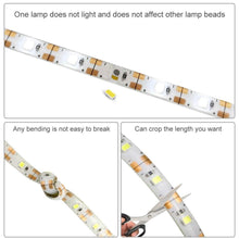 Load image into Gallery viewer, 1 - 5M Dimmable Touch Sensor Cool white/ warm white DC USB Strip Flexible light