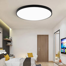 Load image into Gallery viewer, Modern Round & Square 3CM Super Thin LED Light