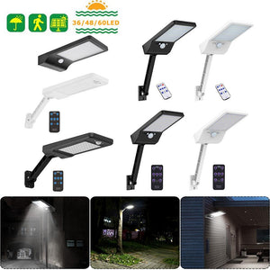 Motion Sensor IP65 Outdoor Solar Wall Street Waterproof Lamp