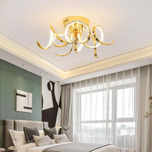 Load image into Gallery viewer, Chrome/Gold Plated Modern Home Ceiling Lamp Lighting Fixtures