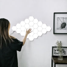 Load image into Gallery viewer, Nordic Hexagonal Sensitive Touch Interior Home LED Tiles