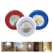 Load image into Gallery viewer,  Under Cabinet  Wardrobe Cupboard Closet Round LED Touch Light