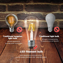 Load image into Gallery viewer, LED Filament Bulb E27 Retro Edison Lamp